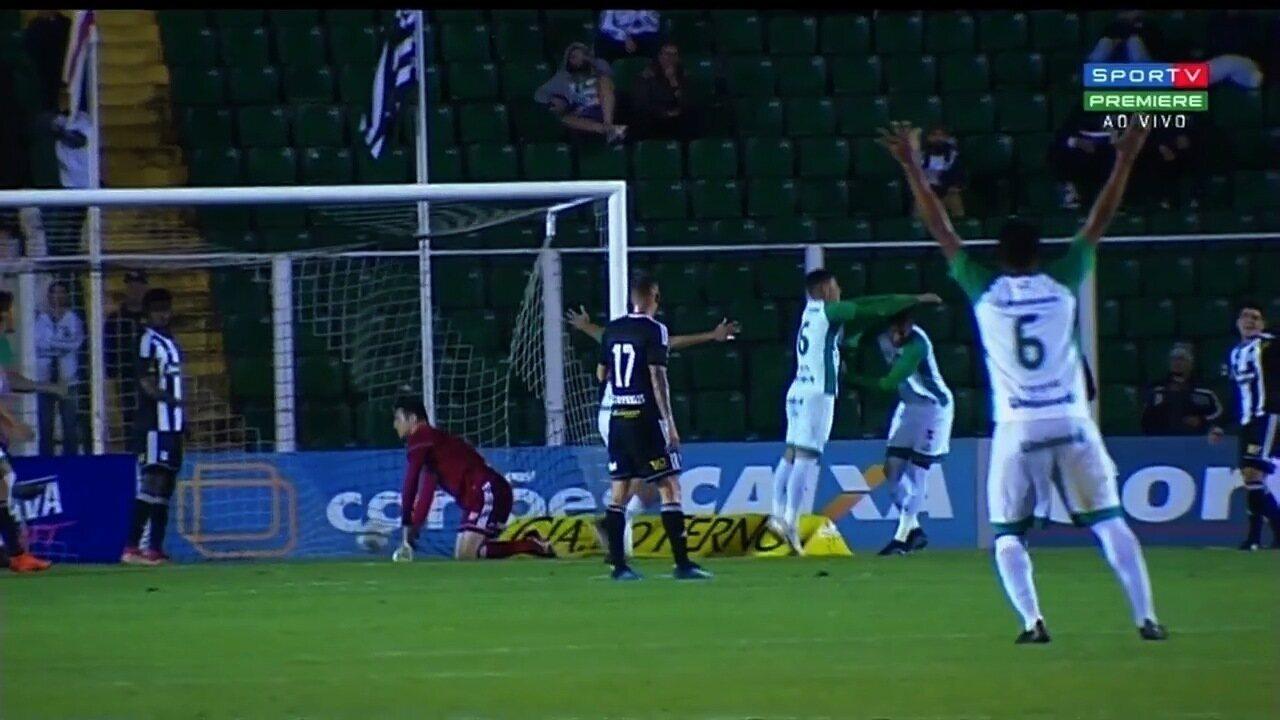 Veja os melhores momentos da partida entre Figueirense e Goiás
