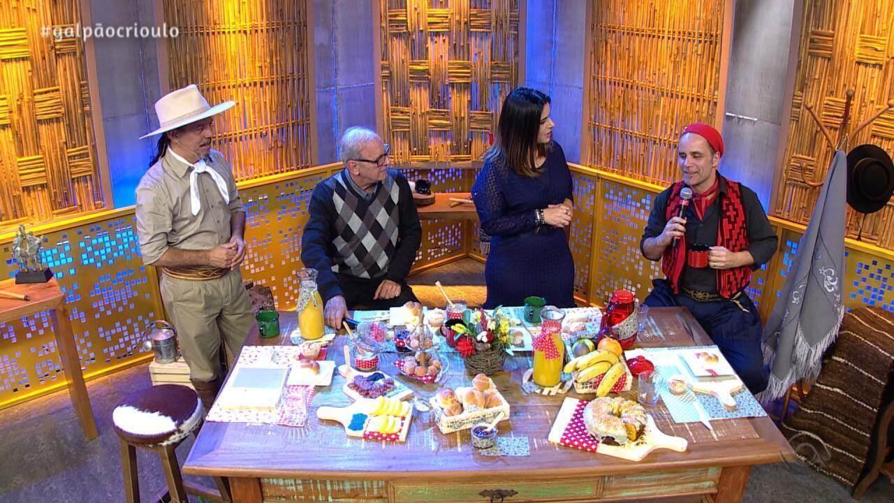 Reveja o quarto bloco do Galpão Crioulo de domingo (19)