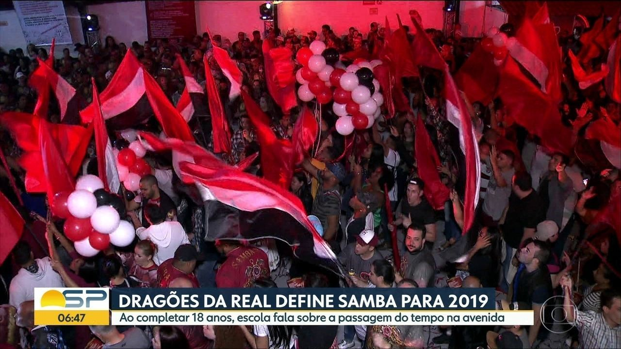 Dragões da Real define samba-enredo do Carnaval 2019