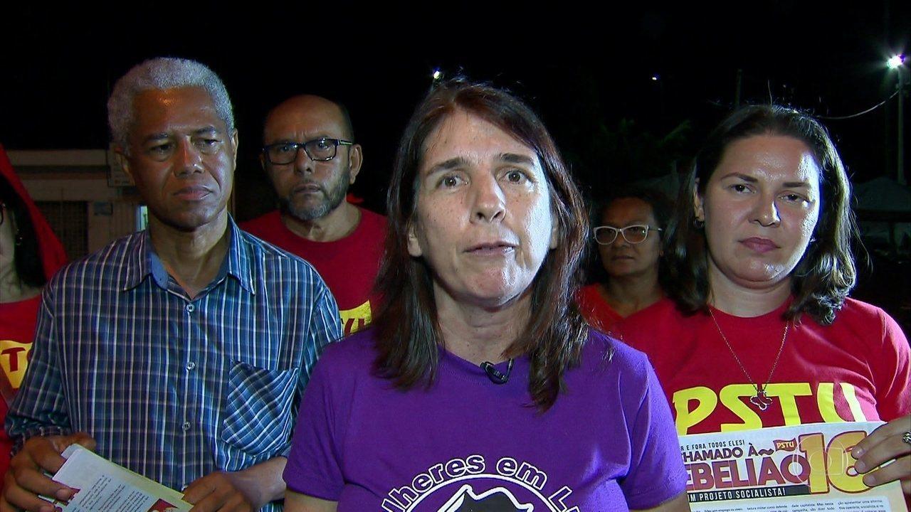 Simone Fontana, do PSTU, fala por que quer ser governadora de PE