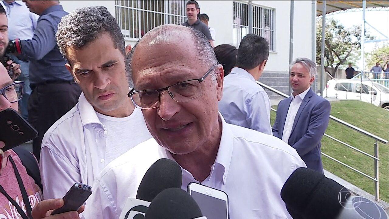 Geraldo Alckmin (PSDB) faz campanha no interior de São Paulo