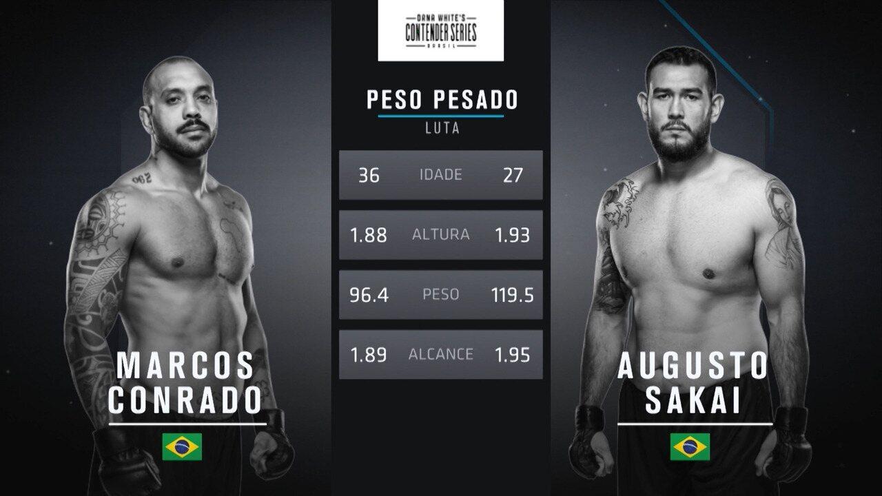 The Contender Series Brasil 1 - Marcos Conrado x Augusto Sakai