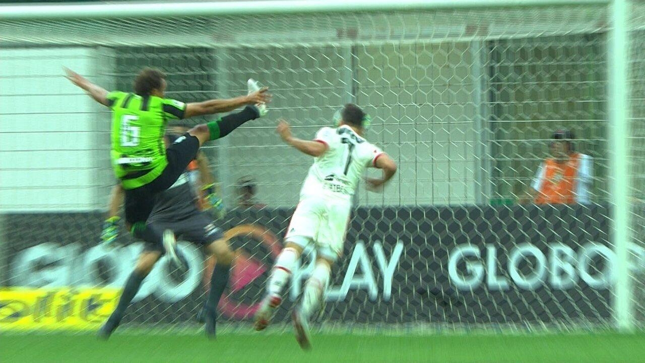 Melhores Momentos de América-MG 2 x 2 Flamengo pela 21ª rodada do Campeonato Brasileiro