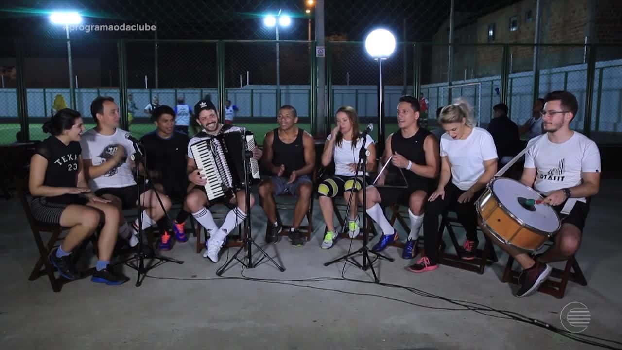 Músicos piauienses homenageiam o Rei do Baião' com partida de futebol