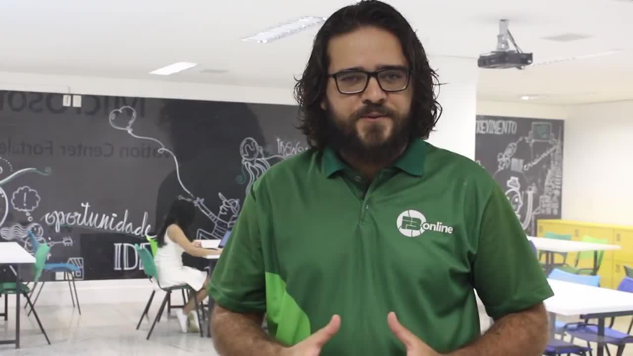 Aprenda Atualidades no programa Pauta FB, com o professor Pedro Israel.