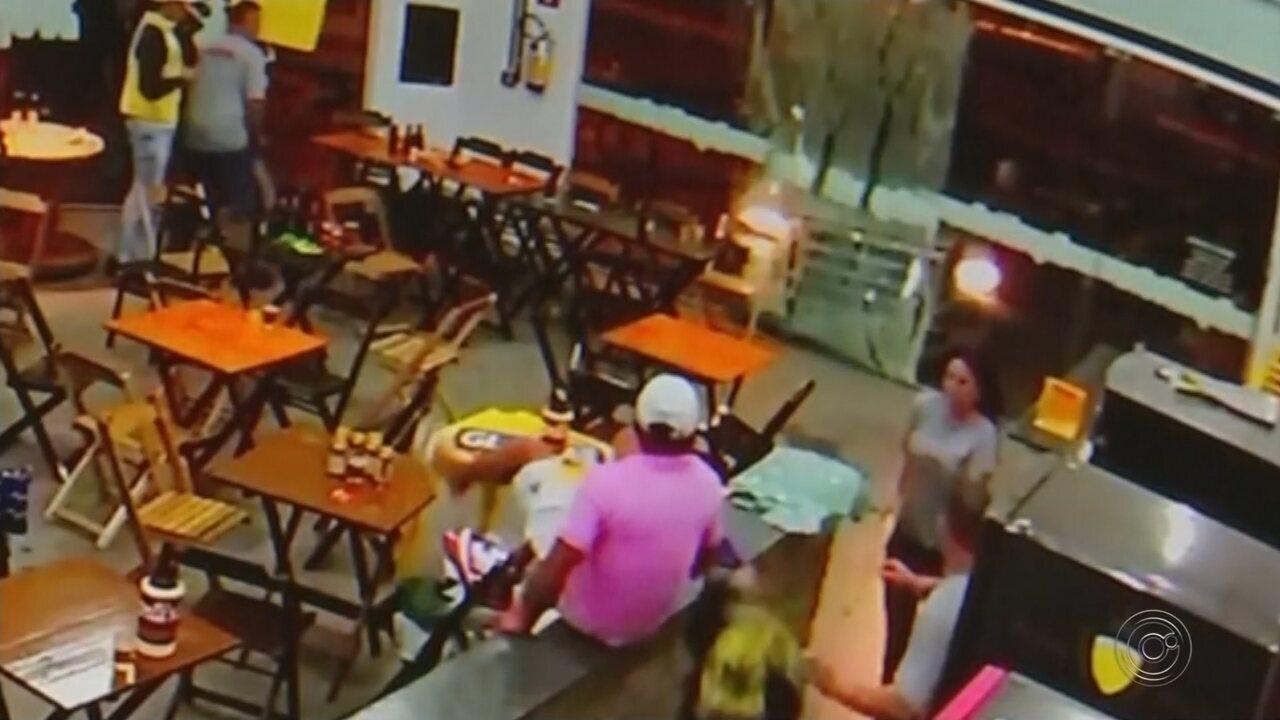 Justiça decreta prisão de homem que atropelou comerciante em bar de Buritama