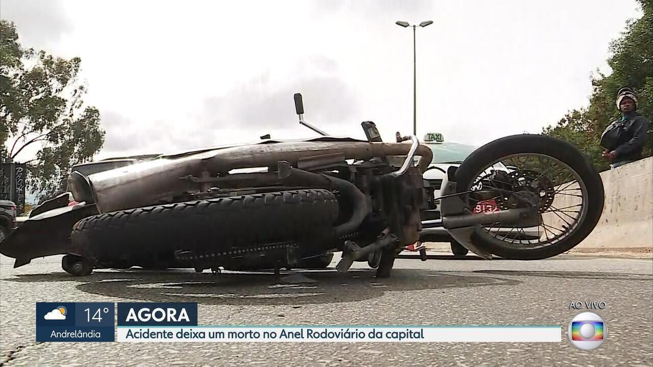Acidente deixa um morto no Anel Rodoviário de Belo Horizonte