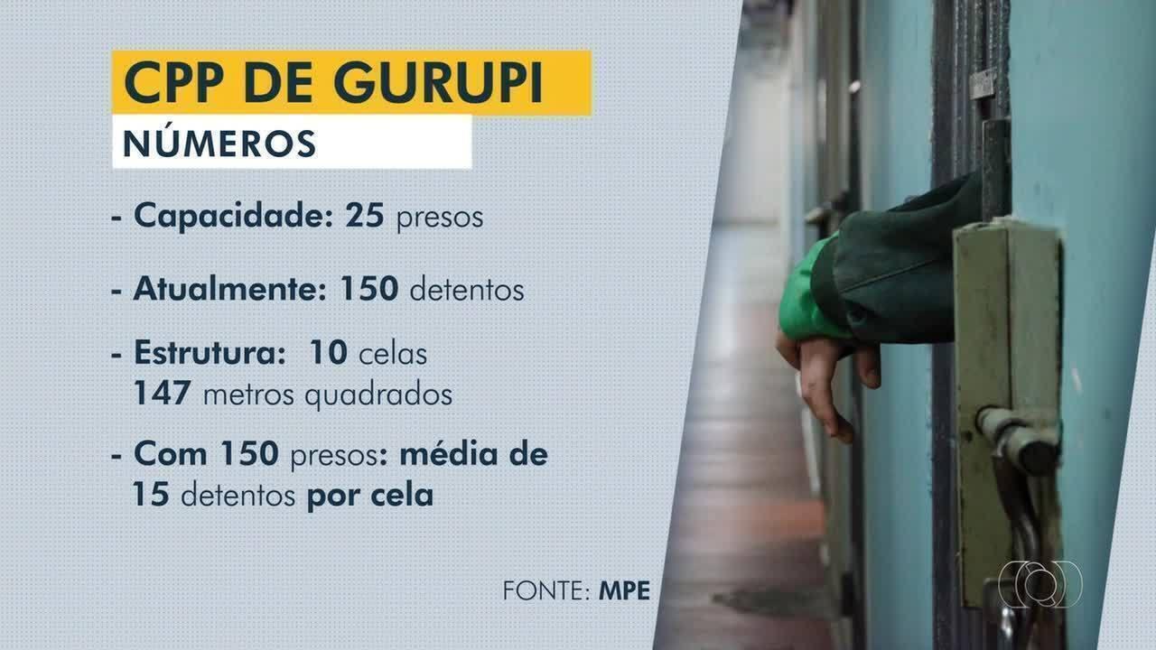 Sistema prisional em Gurupi passa por crise de superlotação