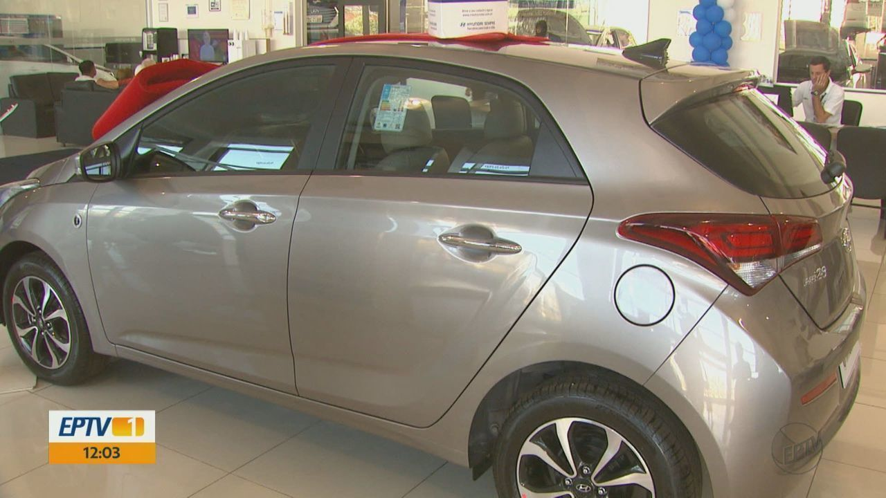 Vendas de carros aumentam 8% nos quatro primeiros meses em Araraquara