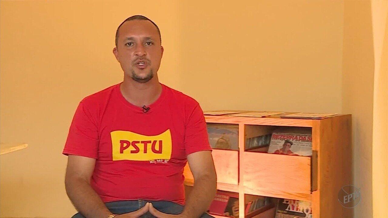 Candidato ao governo de MG pelo PSTU, Jordano Metalúrgico fala sobre suas propostas