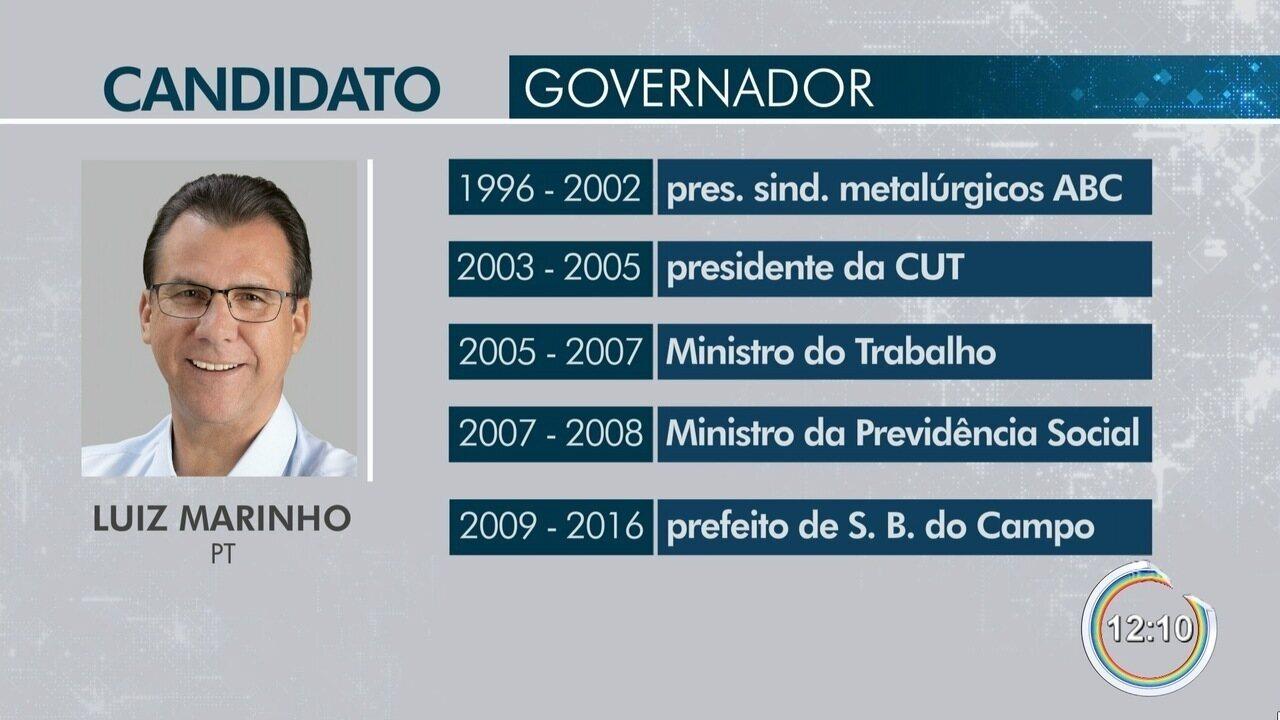 Candidato Luiz Marinho é entrevistado pelo Link Vanguarda