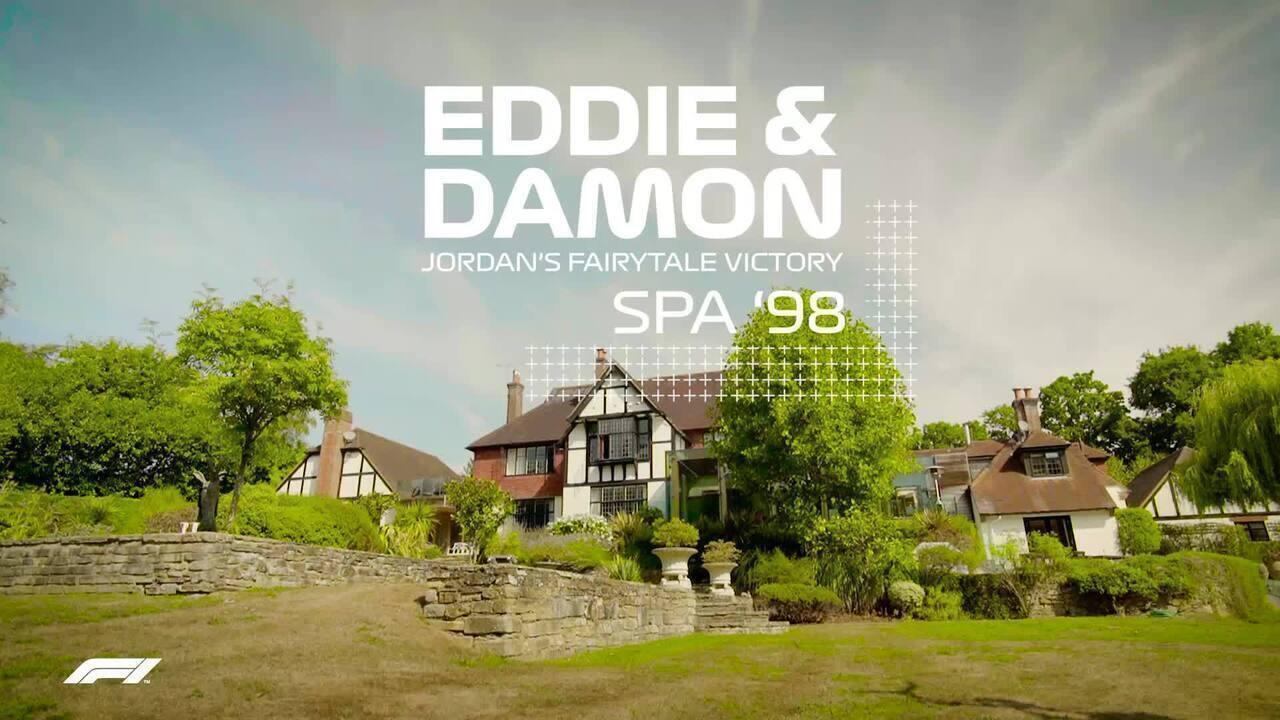 Damon Hill e Eddie Jordan relembram dobradinha histórica em GP caótico na Bélgica