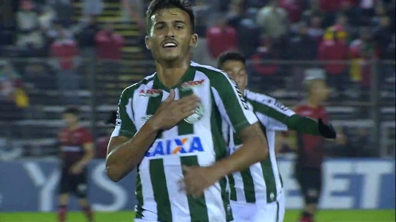 7e2d47a9ef Confira gols de Guilherme Parede pelo Coritiba na Série B do Brasileirão  2018