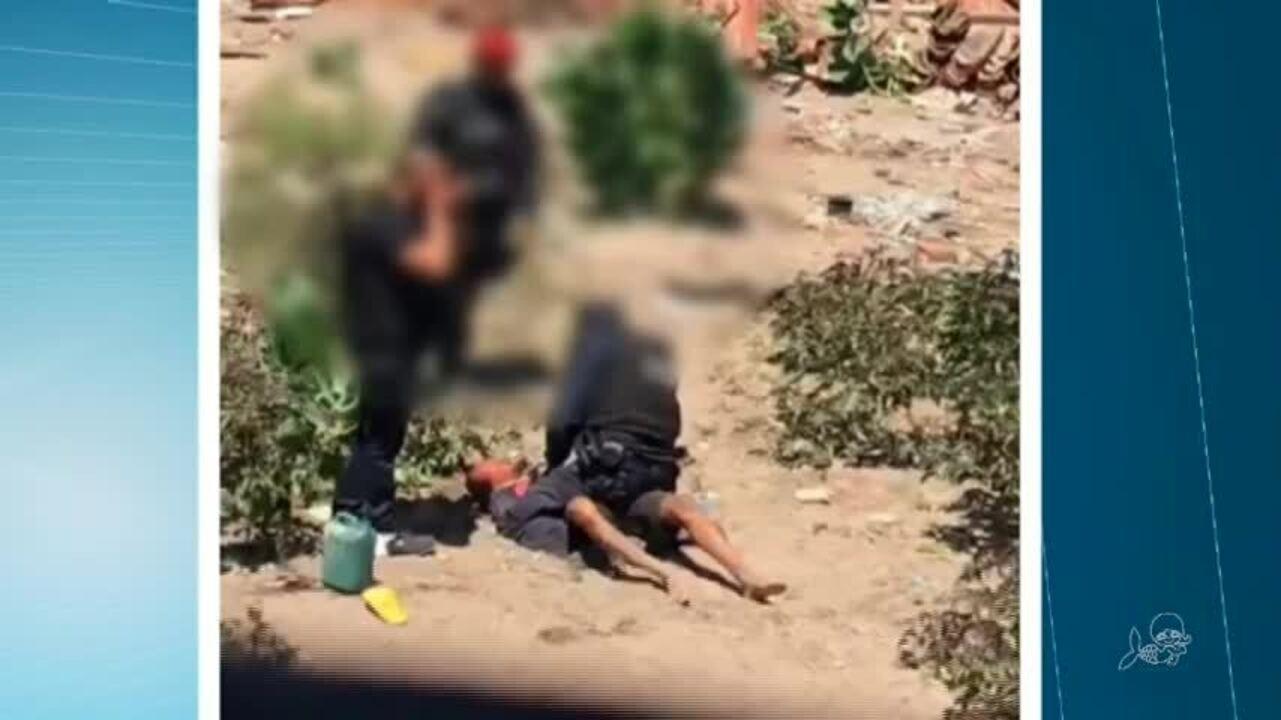 Controladoria e polícia investigam vídeo em que policiais supostamente torturam homem