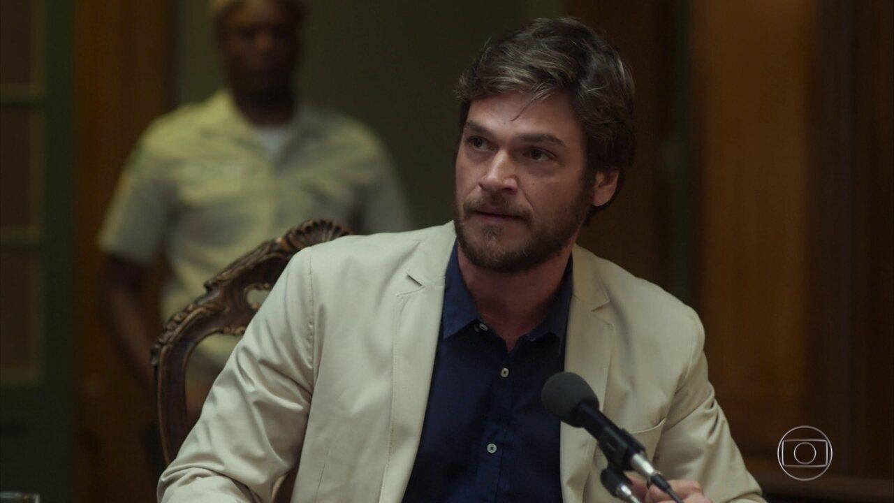 Beto revela toda farsa de sua morte no julgamento de Luzia