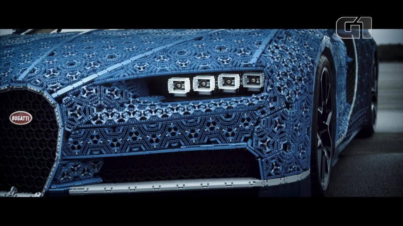 Bugatti e Lego criam Chiron de pecinhas