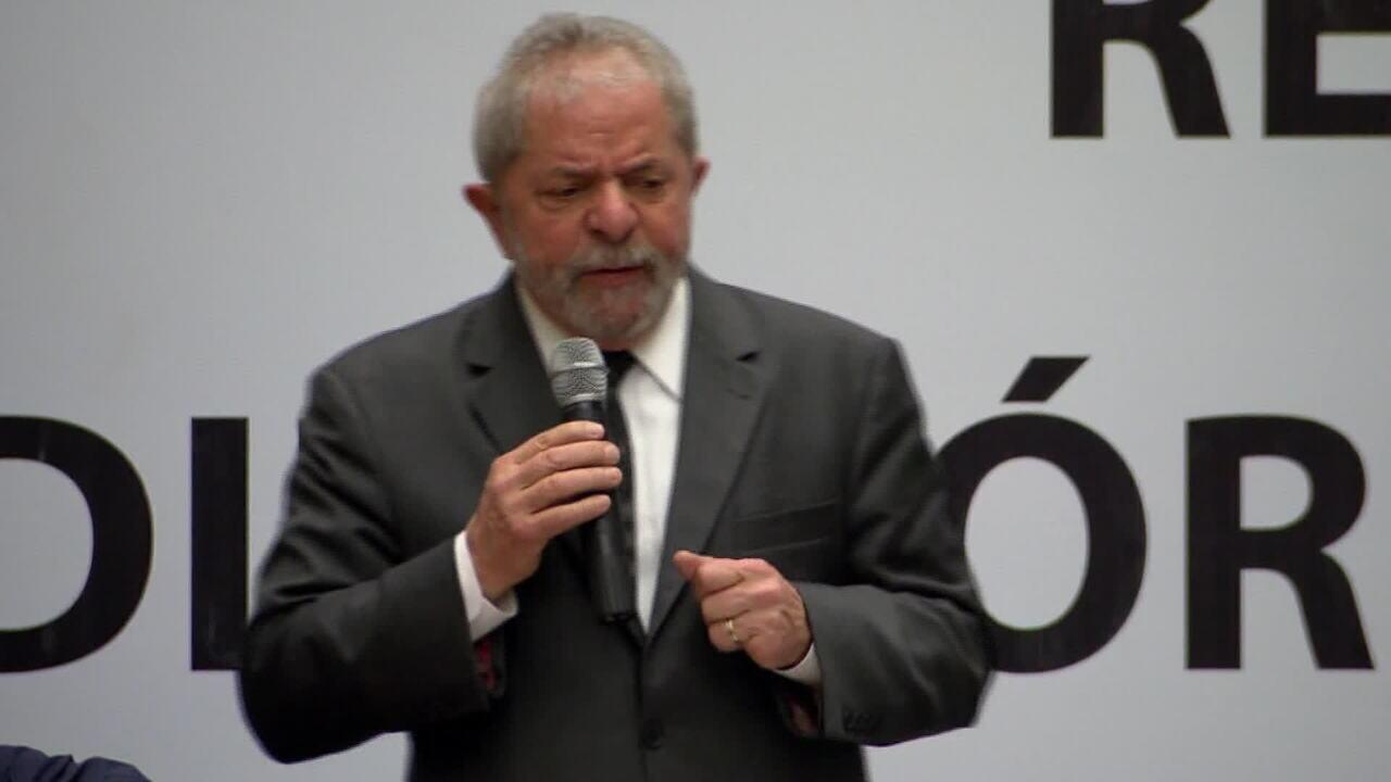 Ministros podem discutir nesta sexta (31) participação de Lula no horário eleitoral