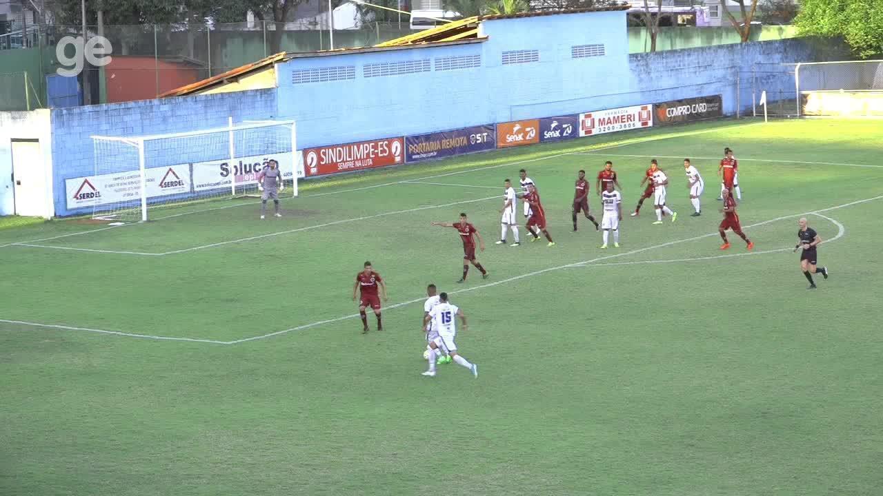 O gol de Vitória-ES 1 x 0 Desportiva Ferroviária, pela Copa Espírito Santo 2018