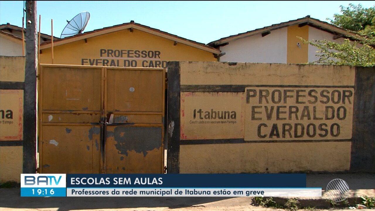 Professores das escolas municipais de Itabuna entram em greve por tempo indeterminado