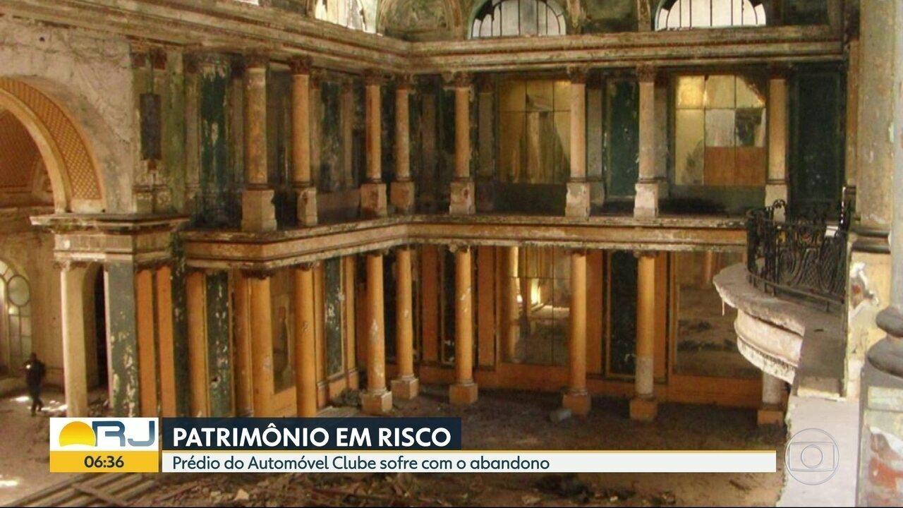 Prédios históricos da cidade passam por abandono e falta de manutenção