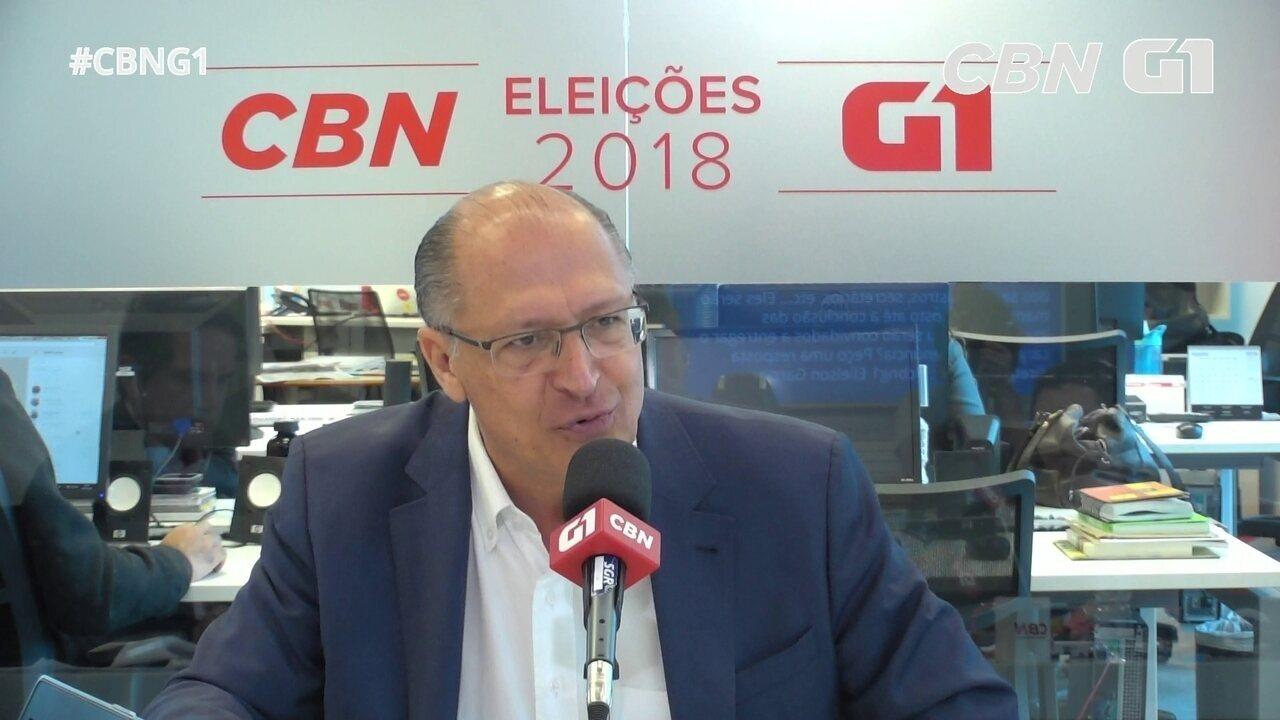 Alckmin fala sobre denúncias de corrupção e Lava Jato