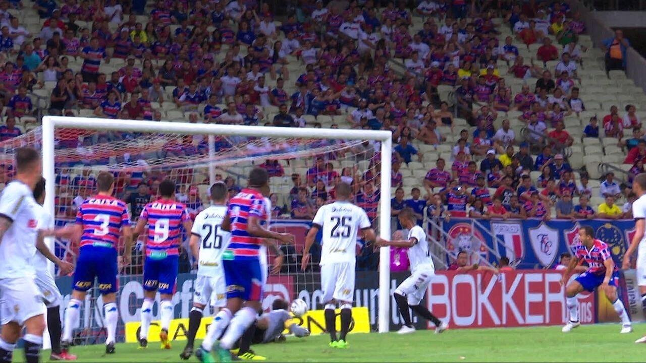 Melhores momentos: Fortaleza 2 x 2 Figueirense pela 25ª rodada da série B do Brasileirão