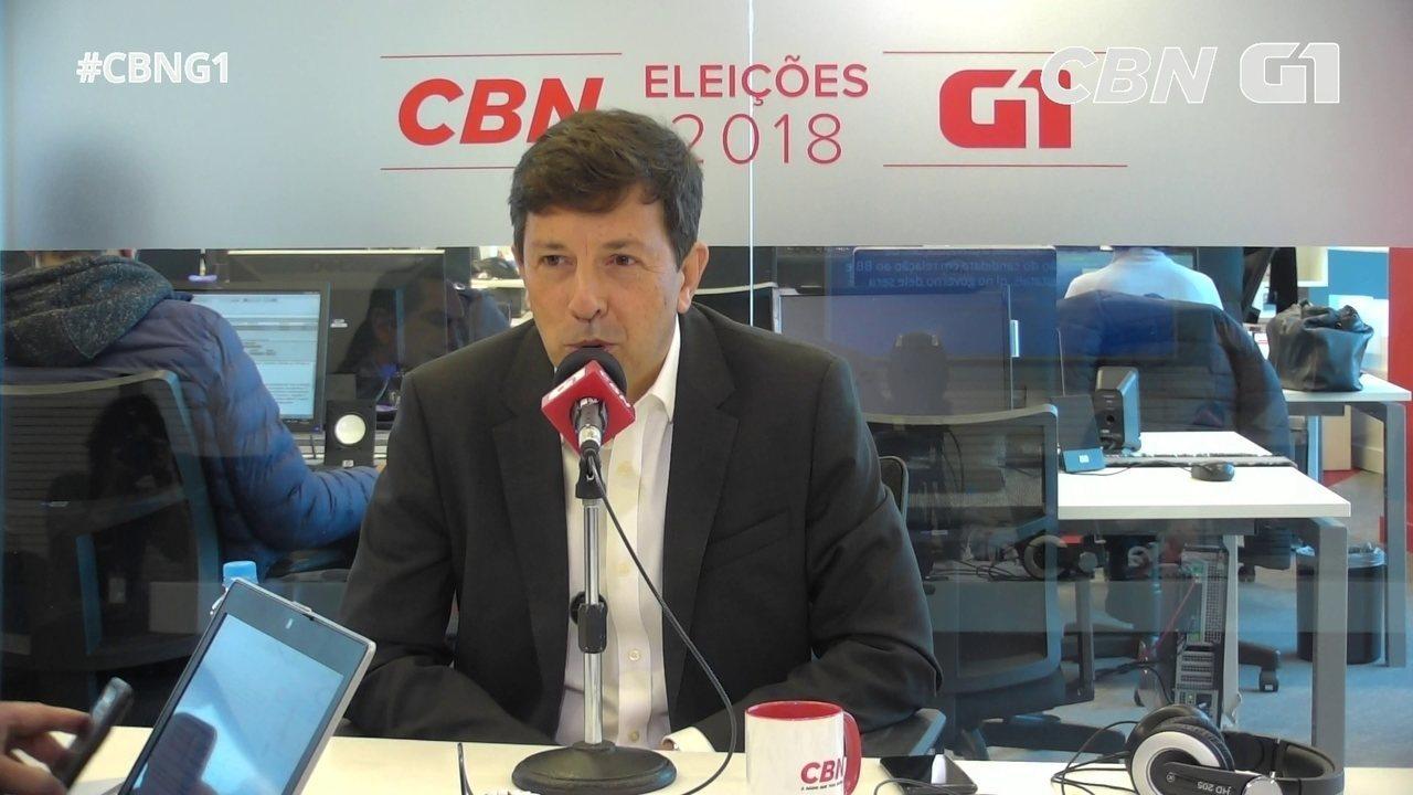 Amoêdo fala sobre financiamento de campanha e privatização de bancos