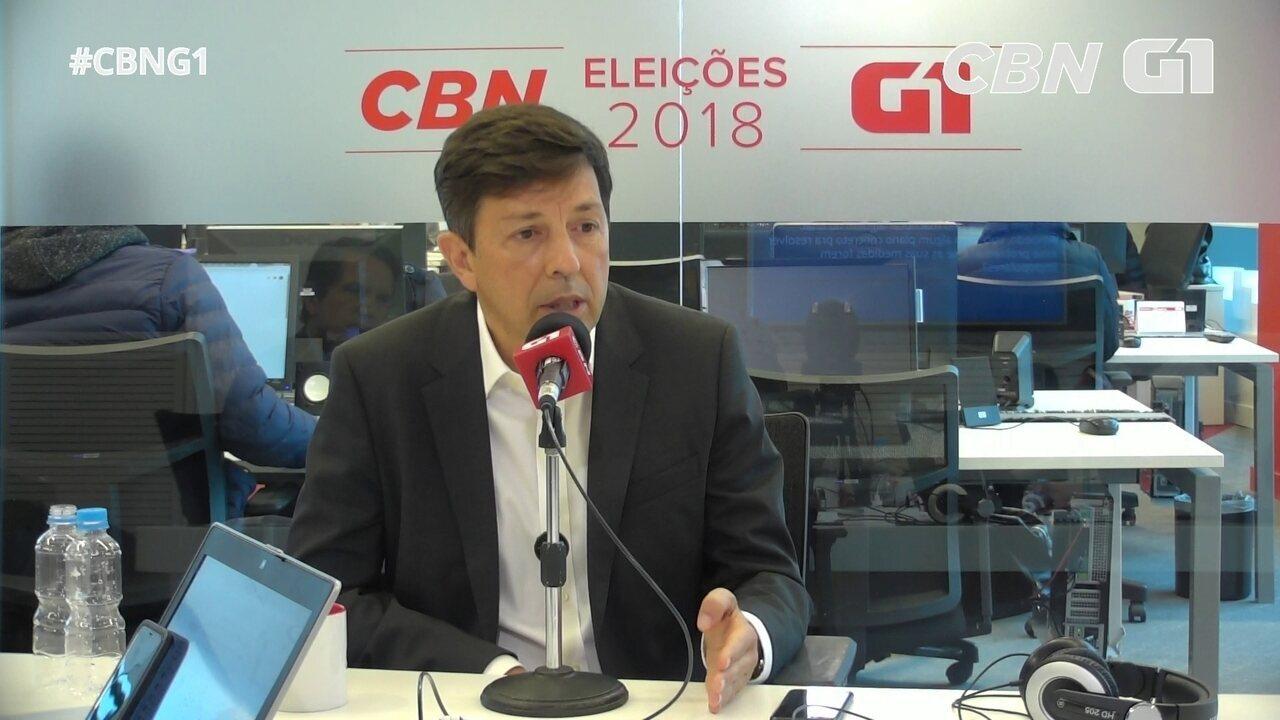 Amoêdo fala sobre crise em Roraima, reforma da Previdência e museus