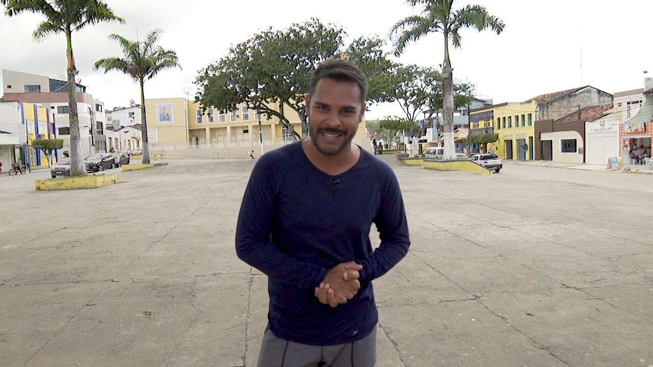 Pablo faz um passeio em Iguaí, cidade baiana cercada de cachoeiras, rios e riachos