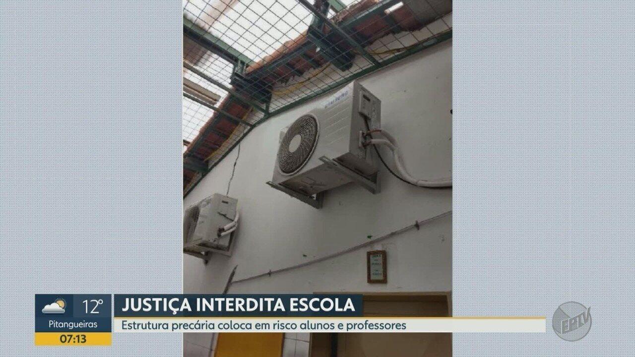 Justiça interdita escola por mau estado de conservação do prédio em Ribeirão Preto, SP