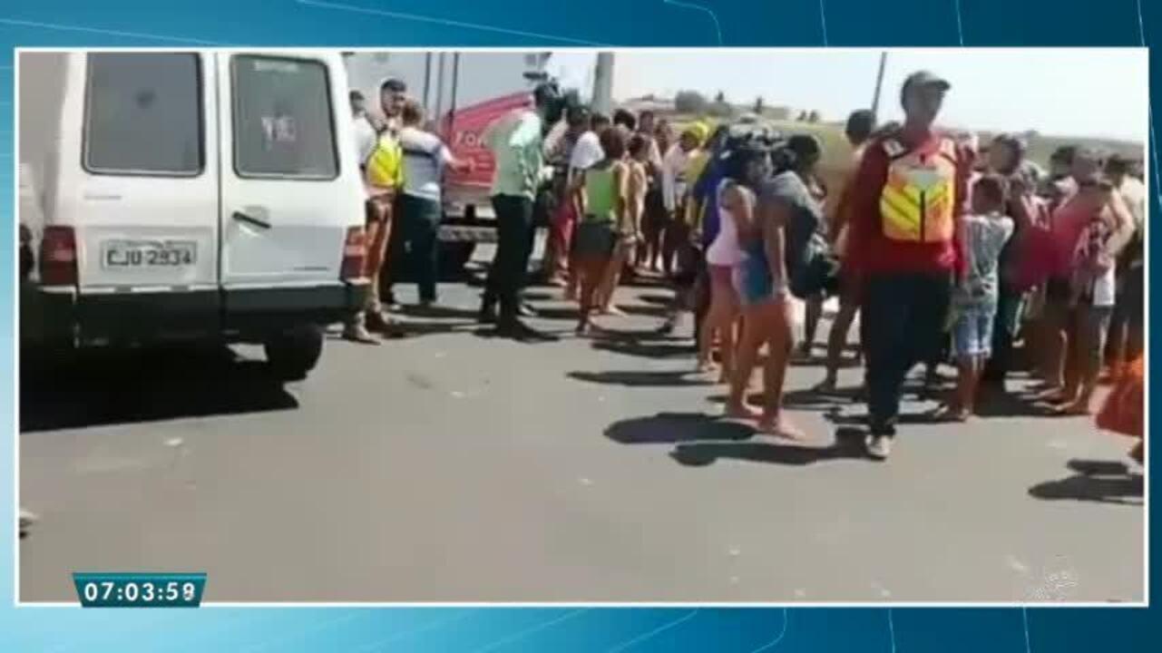 Criança morre atropelada por ambulância em Iguatu