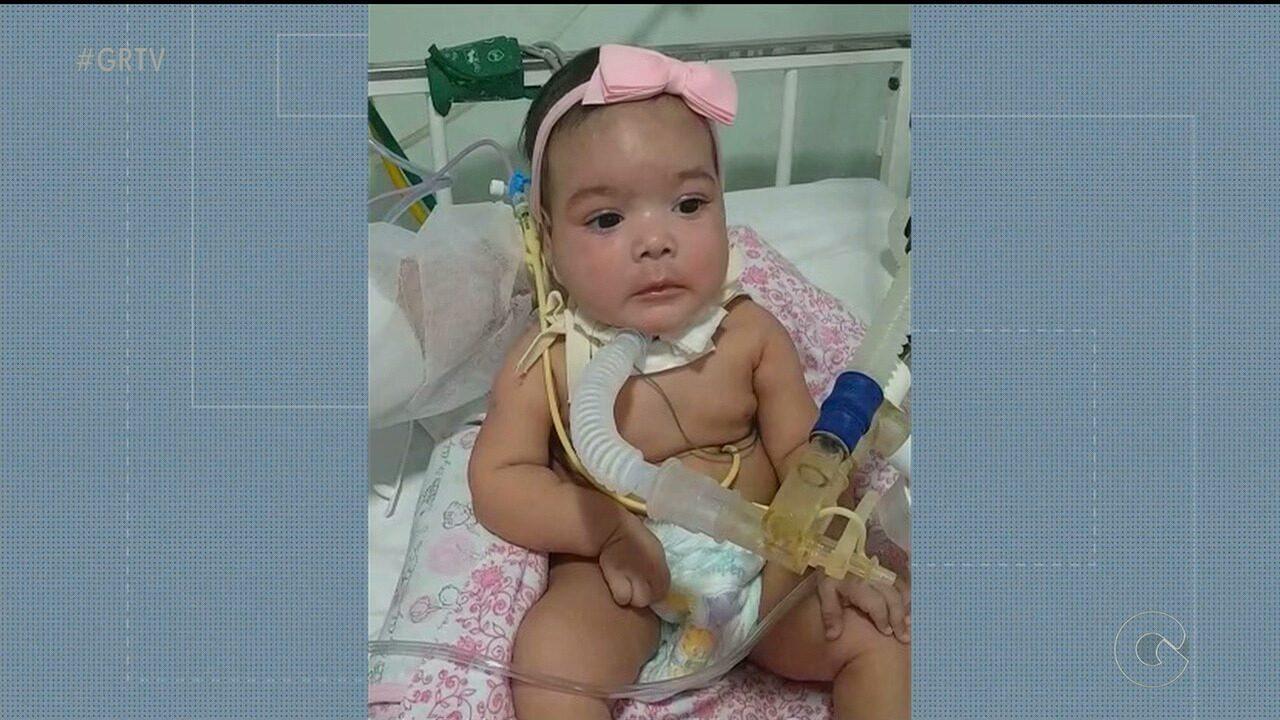 Família de bebê com doença rara cria campanha para comprar medicamento