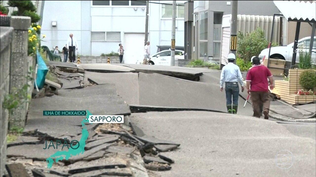 Terremoto de 6.7 deixa 9 mortos no Japão
