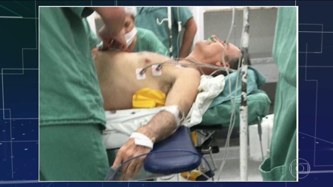 Rapidez no atendimento foi essencial para salvar a vida de Bolsonaro