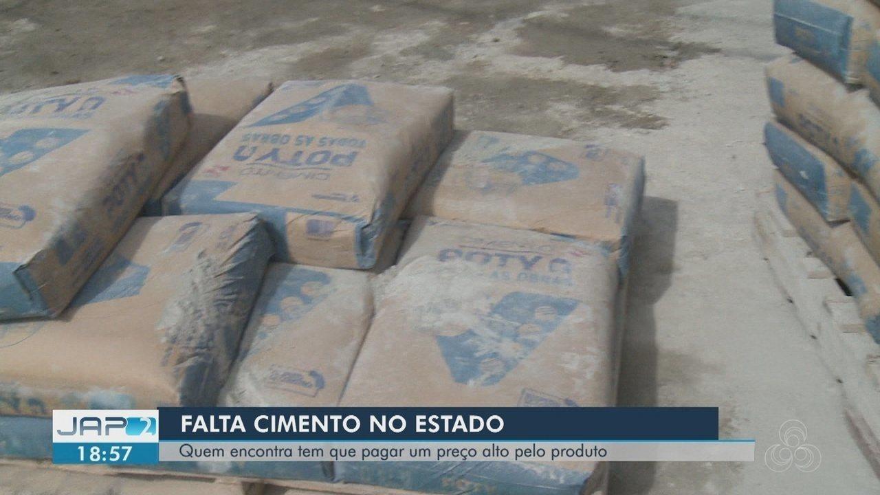 Cimento fica mais caro em Macapá e produto está em falta no mercado