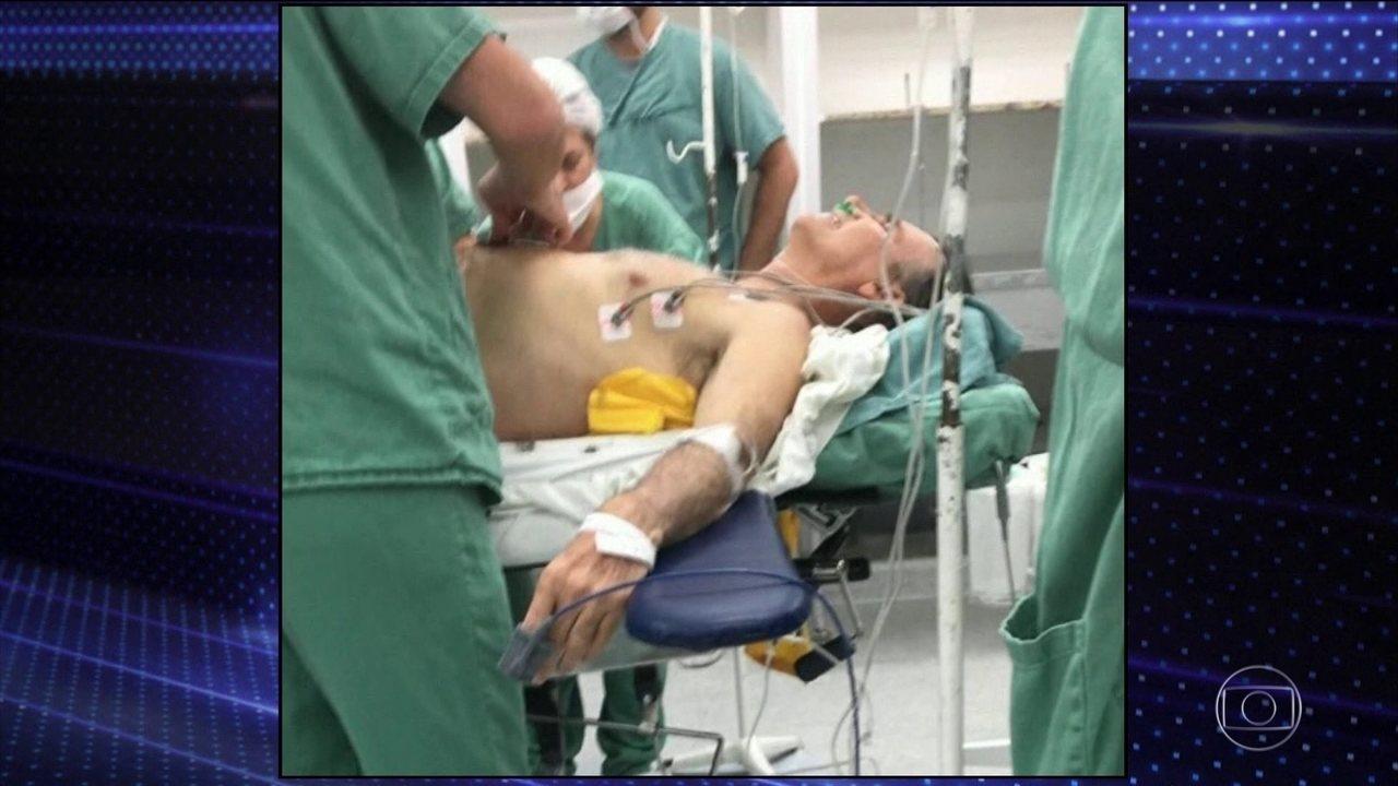 Jair Bolsonaro segue com quadro estável na UTI do Hospital Albert Einstein em São Paulo