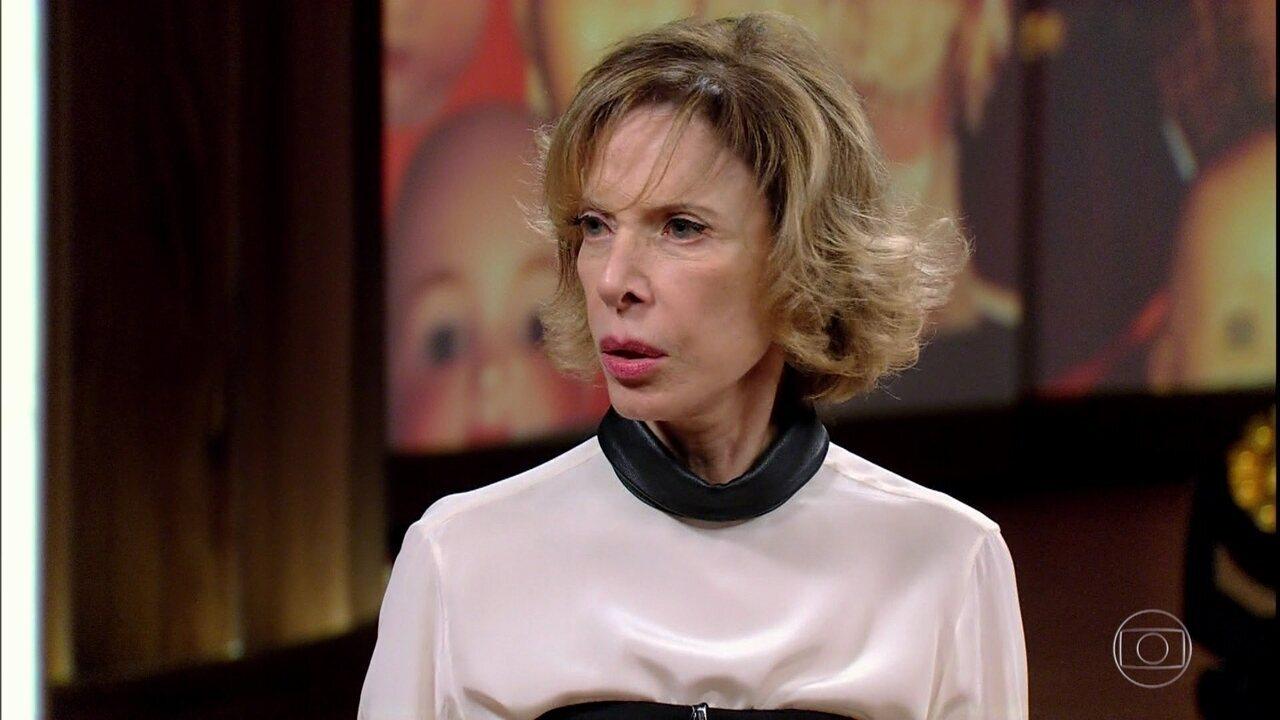 Marília Gabriela fala da peça 'Casa de Bonecas'