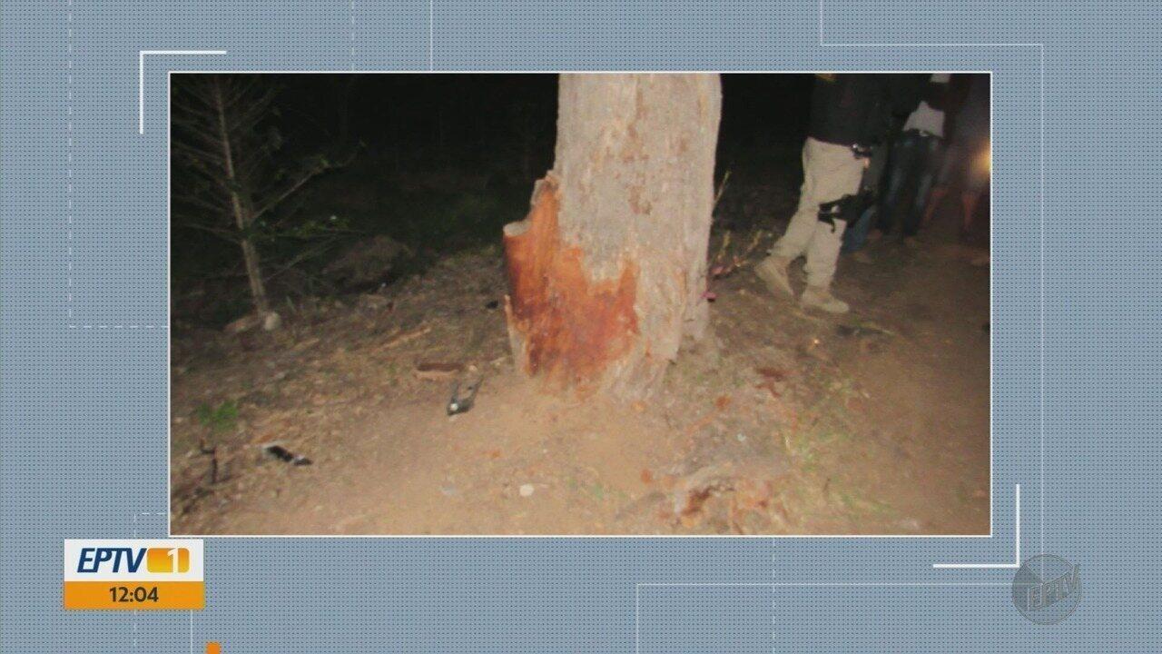 Motorista bate em árvore e fica gravemente ferido na BR-146, em Cabo Verde, MG