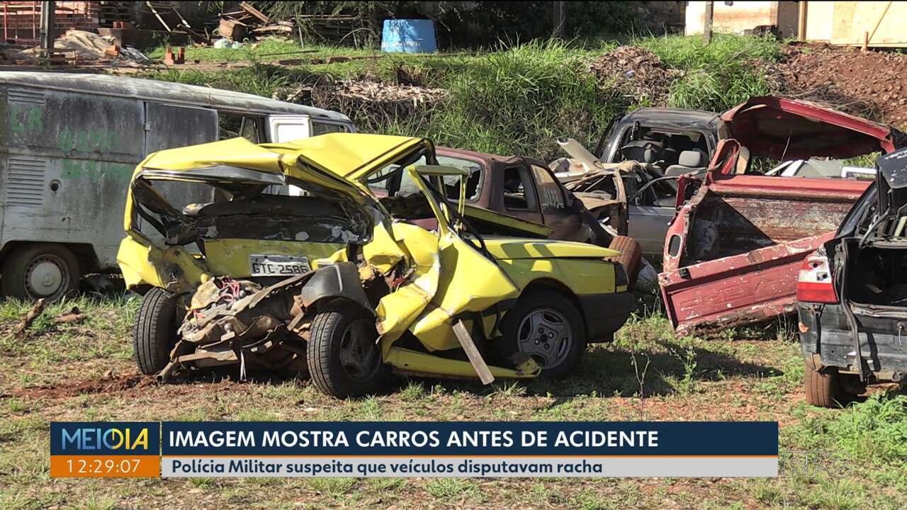 Polícia suspeita que Camaro disputava racha em Foz