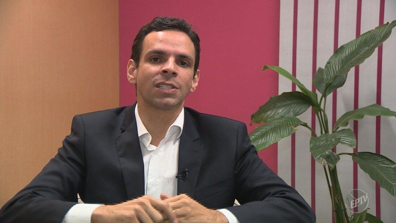 'Eleições 2018': EPTV 1 entrevista Cláudio Aguiar (PMN), candidato ao governo estadual