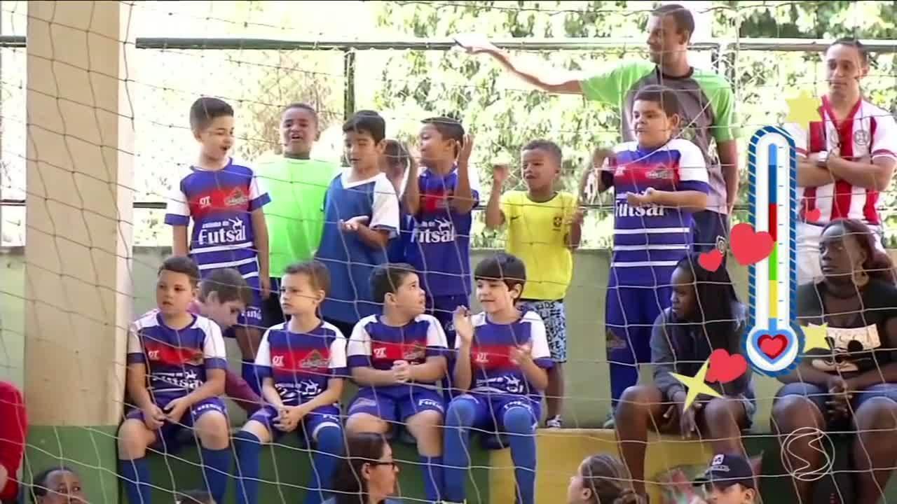 Seletivas de Mendes e Piraí abrem o Festival Dente de Leite de Futsal 2018