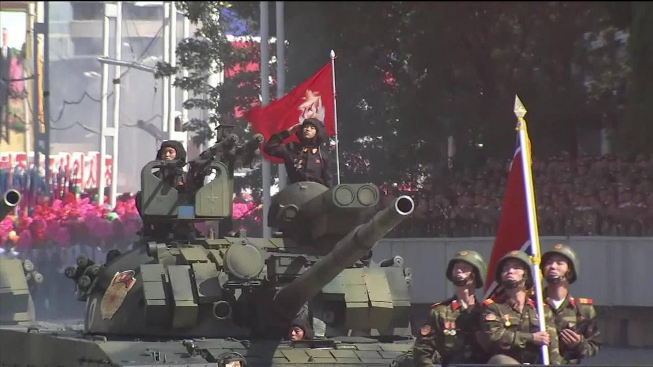 Coreia do Norte comemora 70 anos do país