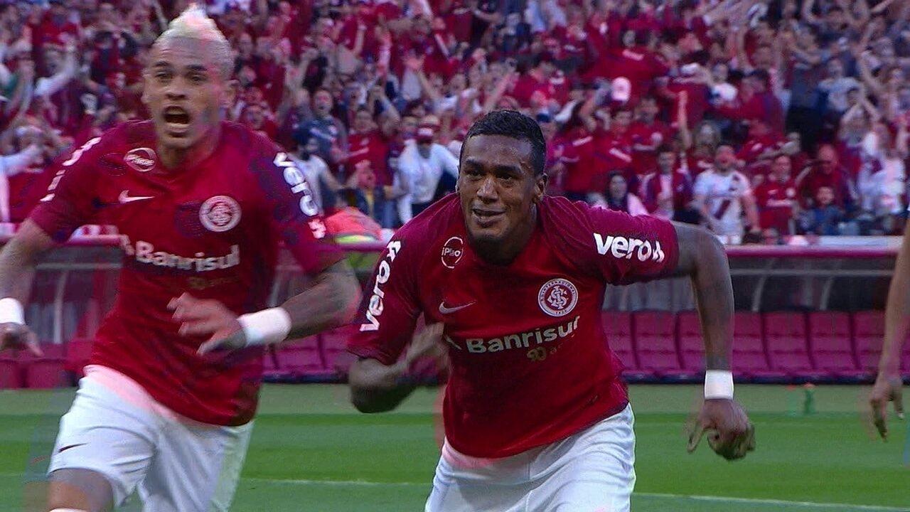 Melhores momentos de Internacional 1 x 0 Grêmio pela 24ª rodada do Brasileirão