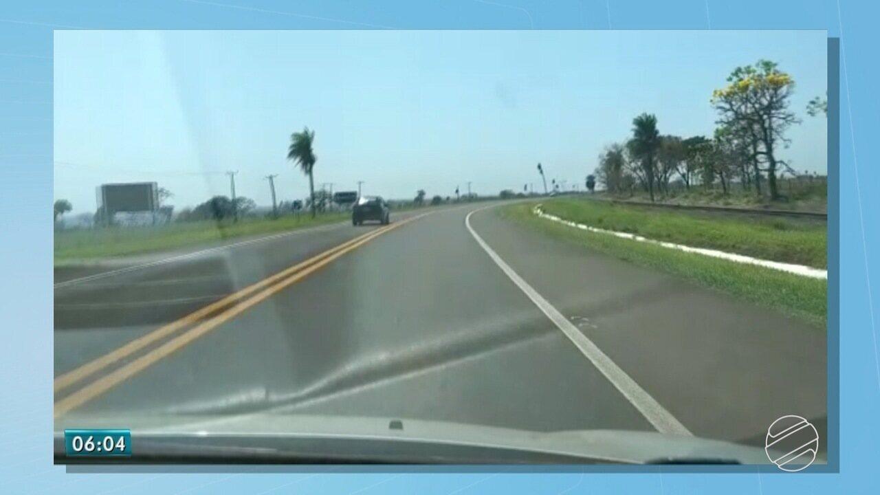 Homem é preso em rodovia de MS por dirigir embriagado