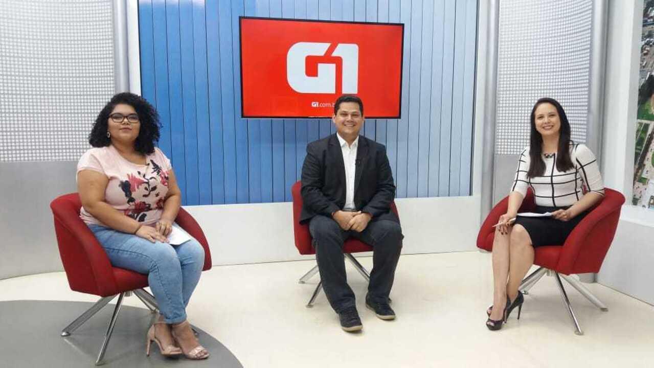 G1 entrevista o candidato ao governo do Amapá, Davi, do DEM