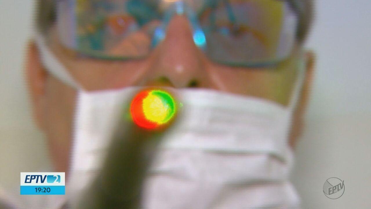 Pesquisadores da USP desenvolvem laser para tratamento da mucosite