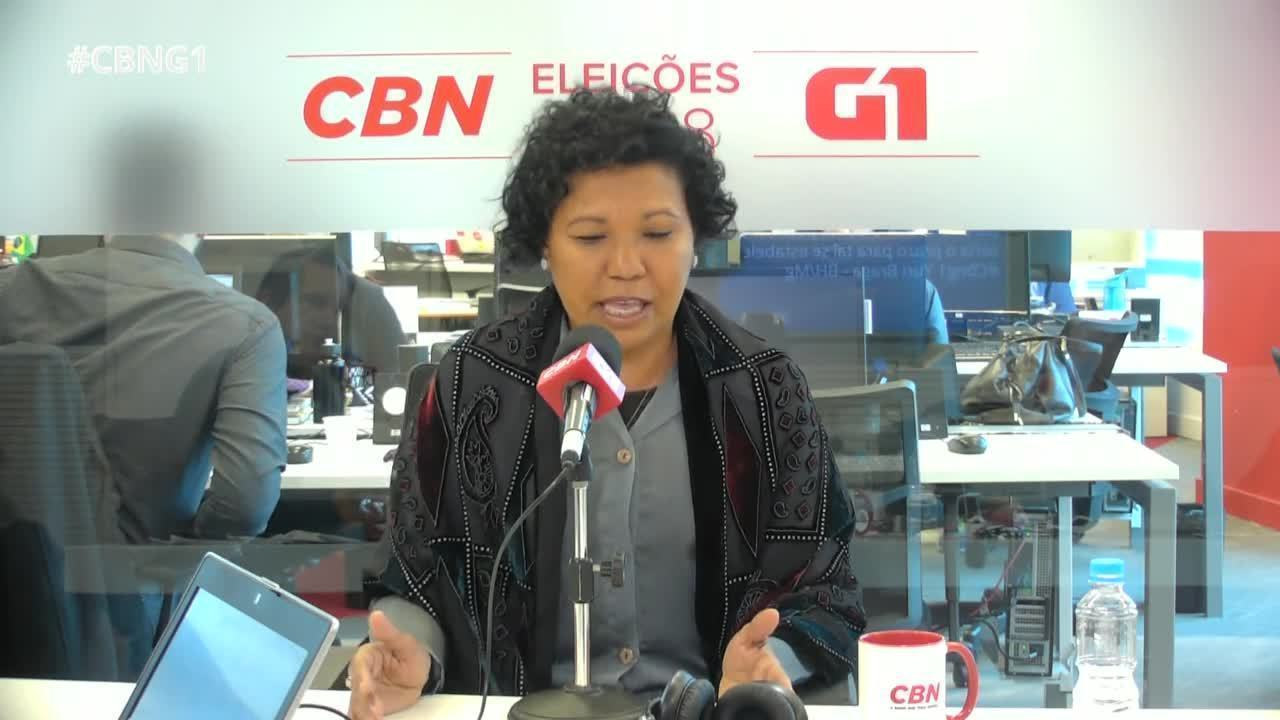 Vera Lúcia (PSTU) é entrevistada pelo G1 e pela CBN