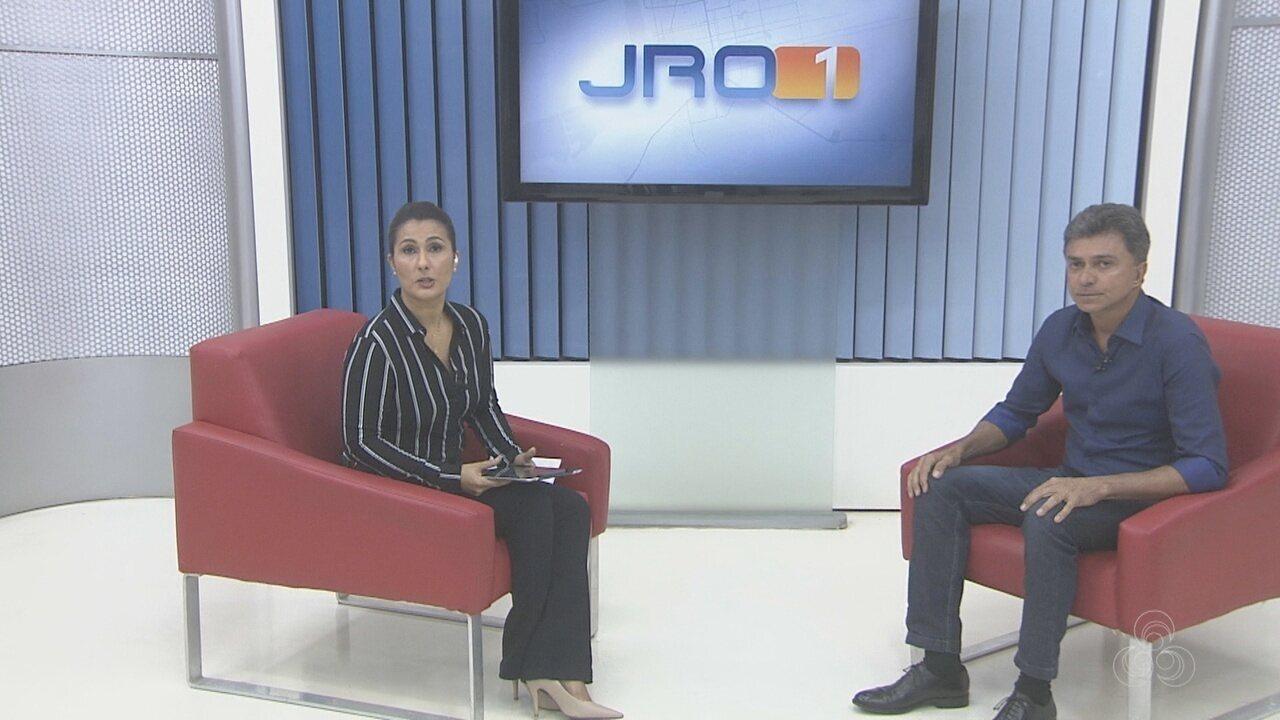 Expedito Junior, candidato ao governo de RO, é entrevistado no Jornal de Rondônia