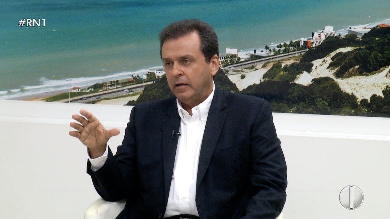 Confira entrevista com o candidato a governo do RN Carlos Eduardo