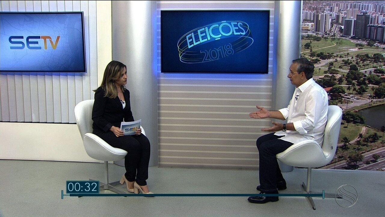 Eduardo Amorim participa de entrevista no SETV1ª Edição